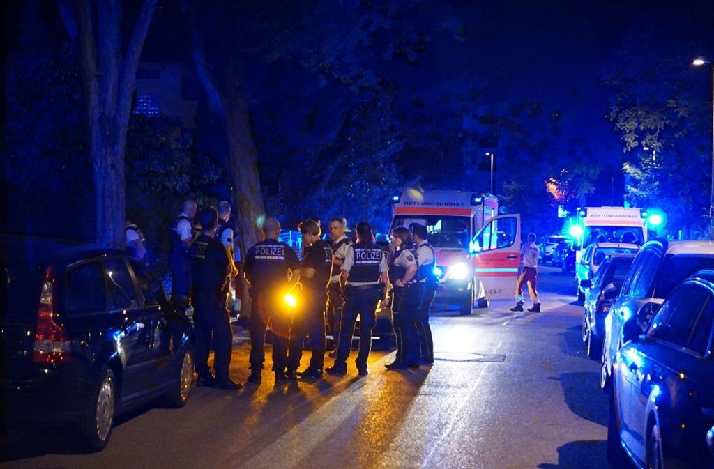 Bei einer Schießerei in Böblingen wurden mehrere Personen verletzt. Foto: SDMG