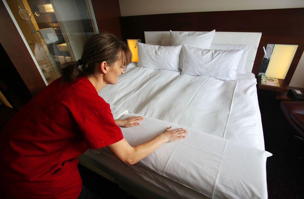 Für Hotels hat sich der April umsatztechnisch gelohnt. (Symbolbild) Foto: dpa