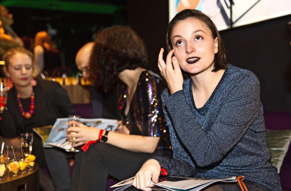 Schauspielerin Celina Rongen auf der Party Foto: Lg/Rudel