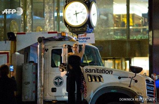 Lady Gaga protestiert gegen Wahlsieger Trump