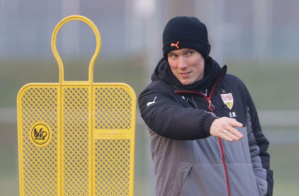 Hannes Wolf kann bei seinen Spielern aus dem Vollen schöpfen. Foto: Pressefoto Baumann