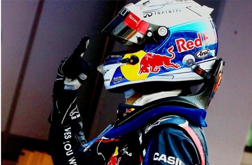 Sebastian Vettel  auf der Überholspur