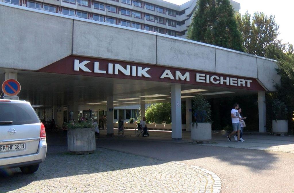 Die Klinik am Eichert ist zum wiederholten Mal in den Schlagzeilen. Foto: SDMG