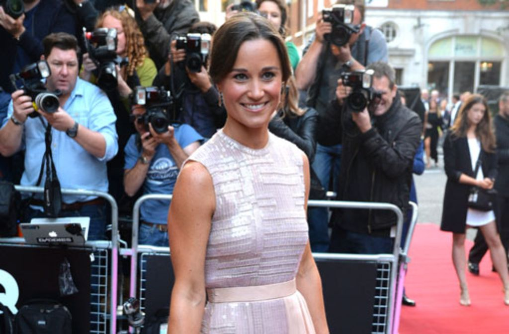 Sie war eine der meistfotografierten Damen beim GQ Men of the Year-Award: Pippa Middleton. Foto: Getty Images
