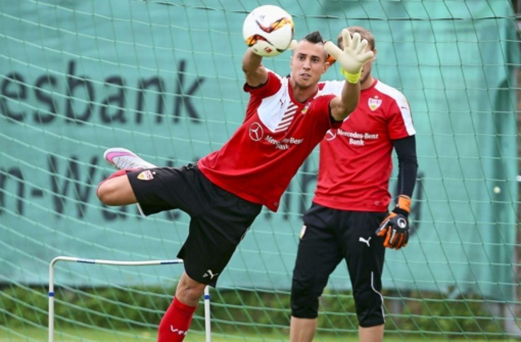 Für Odisseas Vlachodimos ergibt sich beim VfB Stuttgart jetzt eine große Chance. Foto: Pressefoto Baumann