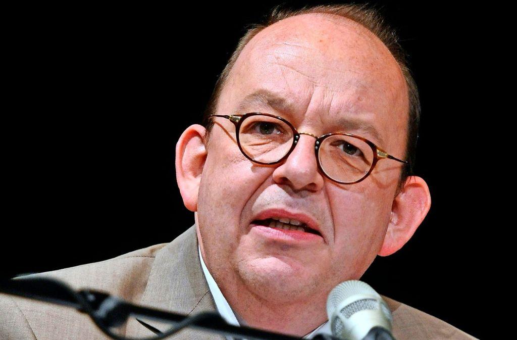 Literaturkritiker Dennis Scheck.  Foto: dpa