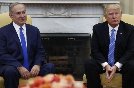 """Trump schwebt """"großartiger Deal"""" für Nahost vor"""