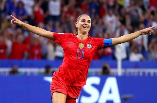 USA nach glücklichem Sieg gegen England im Finale