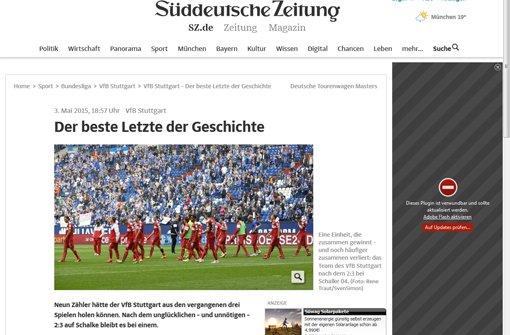 Die Pressestimmen zum Schalke-Spiel