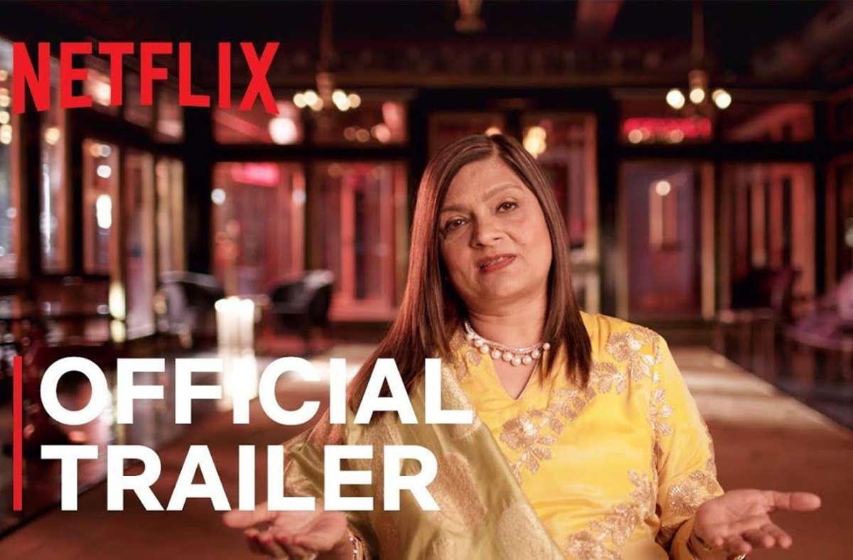 """Sima Taparia ist in der Netflix-Serie """"Indian Matchmaking""""als  Heiratsvermittlerin zu sehen. Foto: Netflix"""