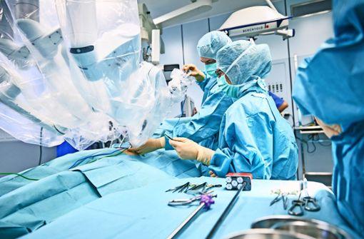 Dr. Roboter übernimmt im OP