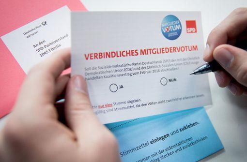 So wird beim SPD-Mitgliedervotum ausgezählt