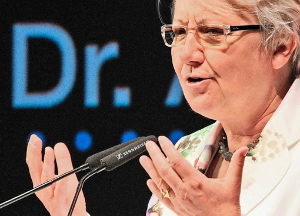 Annette Schavan hat im November schriftlich zu den Vorwürfen Stellung genommen. Foto: dpa