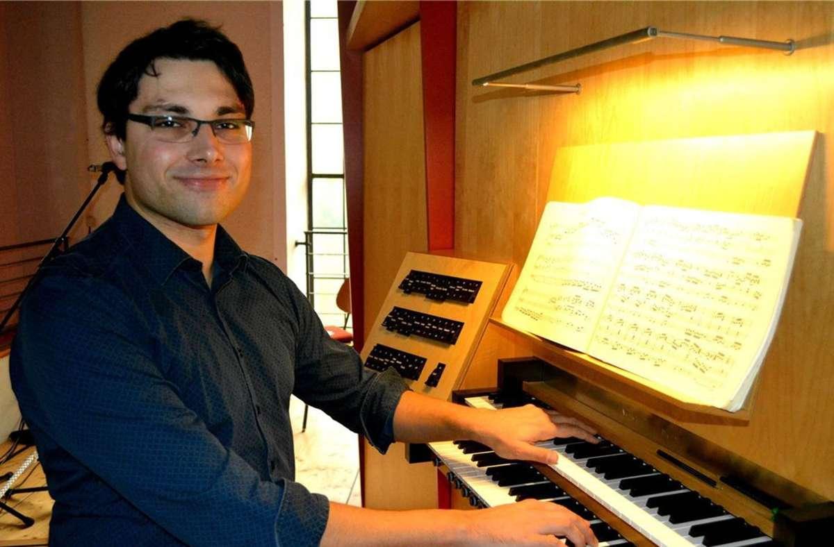 Markus Piringer an der Orgel. Foto: Veranstalter/Veranstalter