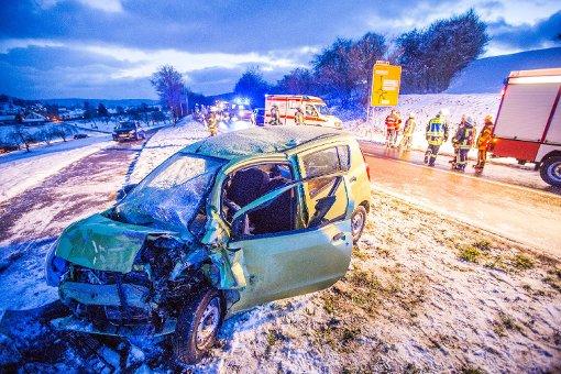 Nach Schnee-Crash in Lebensgefahr