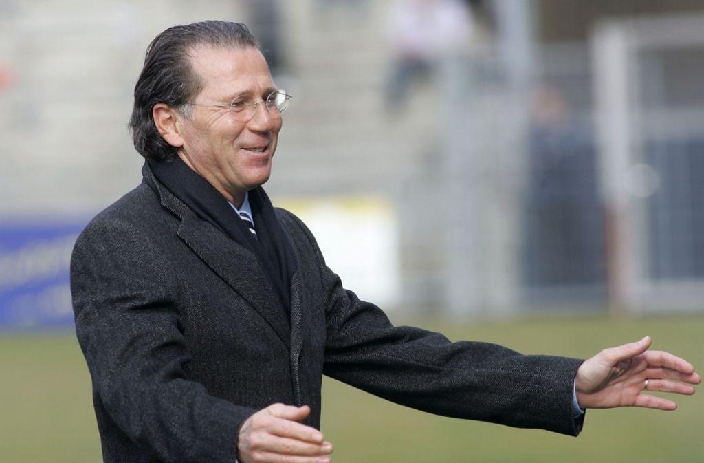 Offenbar befindet sich der ehemalige VfB-Spieler Walter Kelsch wegen Drogenhandels in einem Gefängnis in Norddeutschland. Das Bild zeigt Kelsch im Jahr 2008, als er Präsidiumsmitglied der Stuttgarter Kickers war. Foto: Baumann