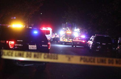 Mehrere Tote und Verletzte nach Schüssen in Kalifornien