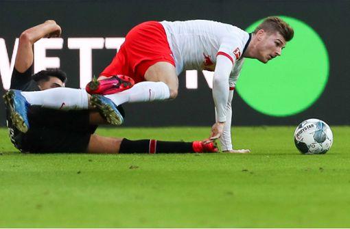 Dämpfer für RB Leipzig im Spitzenspiel
