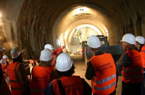 Der Fildertunnel wächst täglich