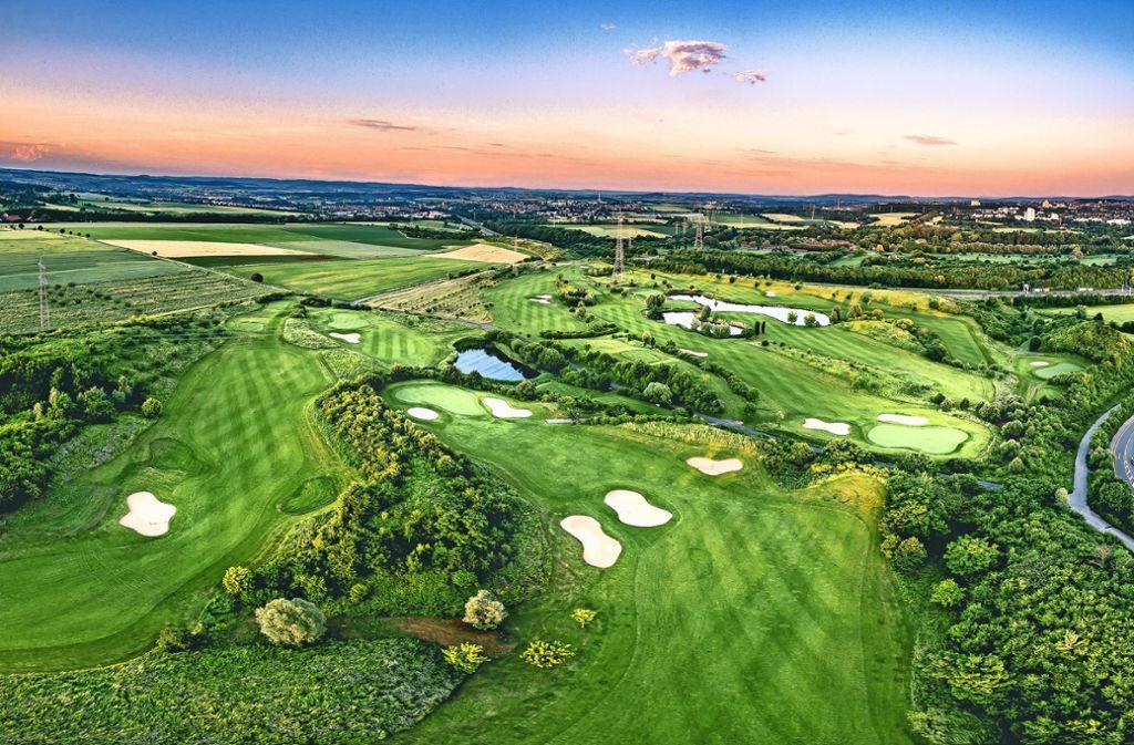 Sportler- oder Naturparadies? Der Golfclub Monrepos Foto: Golfclub Schloss Monrepos GmbH