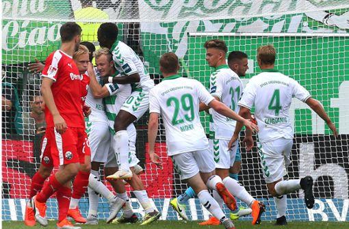 Jahn Regensburg und Greuther Fürth mit optimalem Start