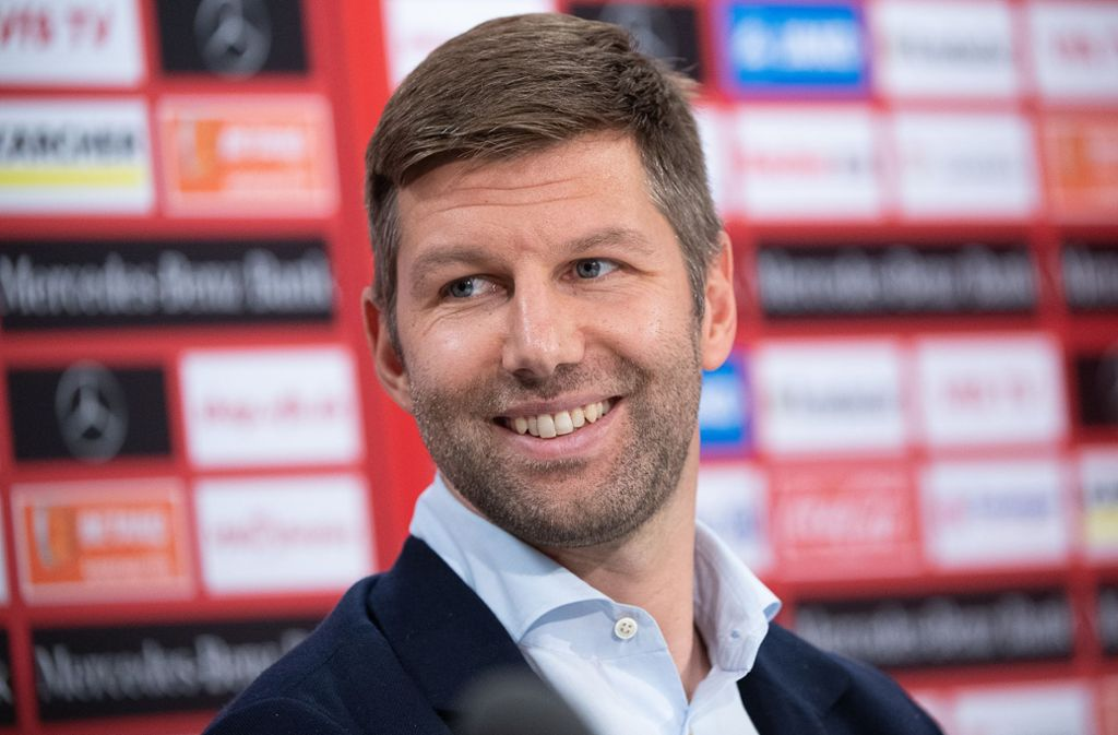 """VfB-Vorstandsvorsitzender Thomas Hitzlsperger war zu Gast in der SWR-Sendung """"Leute"""". Foto: picture alliance/dpa/Sebastian Gollnow"""