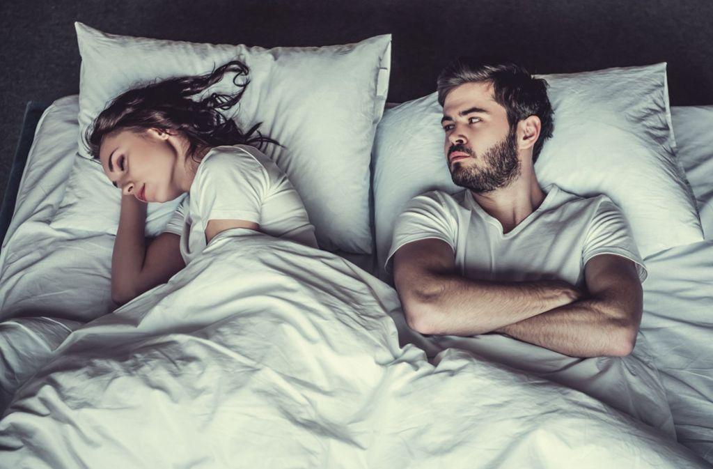 Ja, warum eigentlich nicht mehr? Man findet sich nach wie vor attraktiv, schläft aber nicht mehr miteinander. Foto: stock.adobe.com/VadimGuzhva