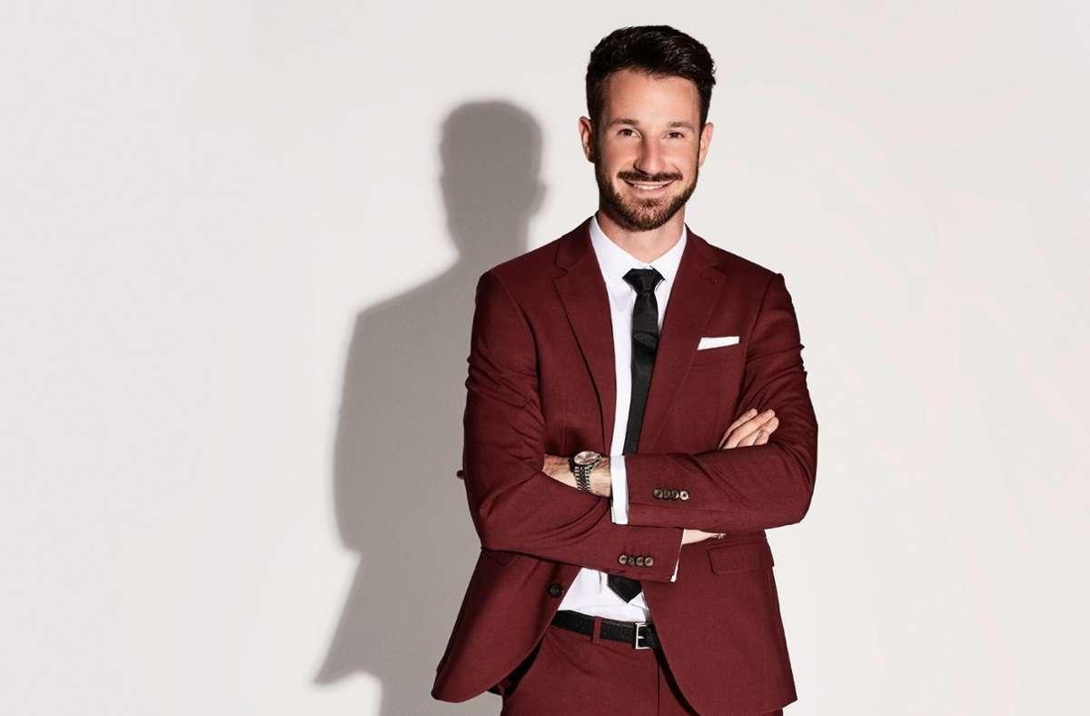 """Marketing-Manager Alexander Schäfer sucht in der 2. Staffel von """"Prince Charming"""" seinen Mr. Right. Foto: TVNOW/Arya Shirazi"""