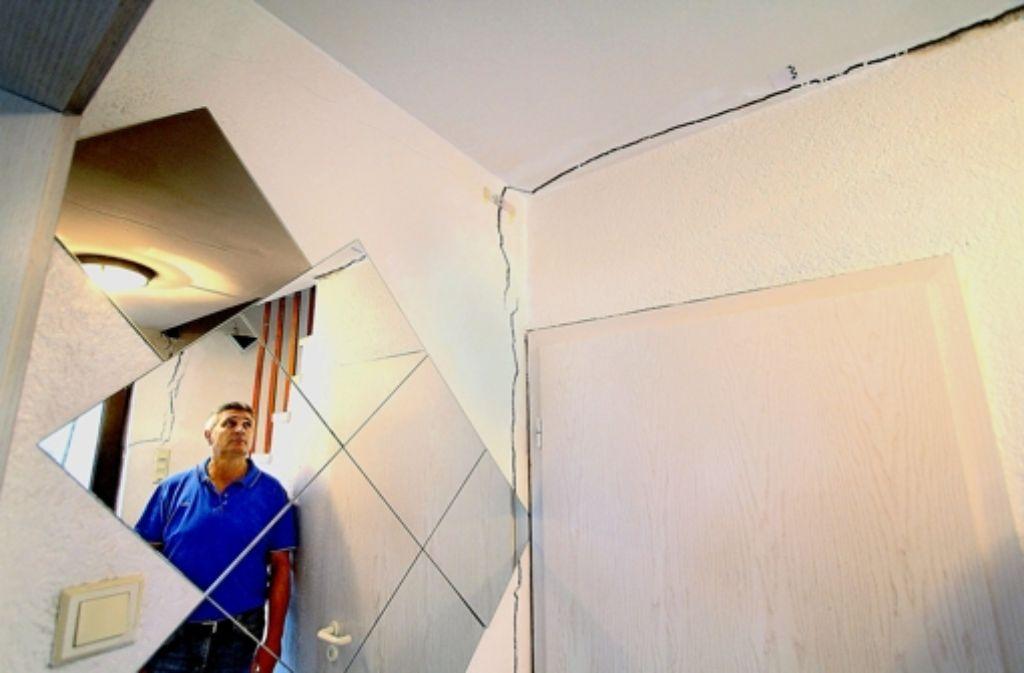 Antonio La Marra hat aus seinem Haus ausziehen müssen. Foto: factum/Granville