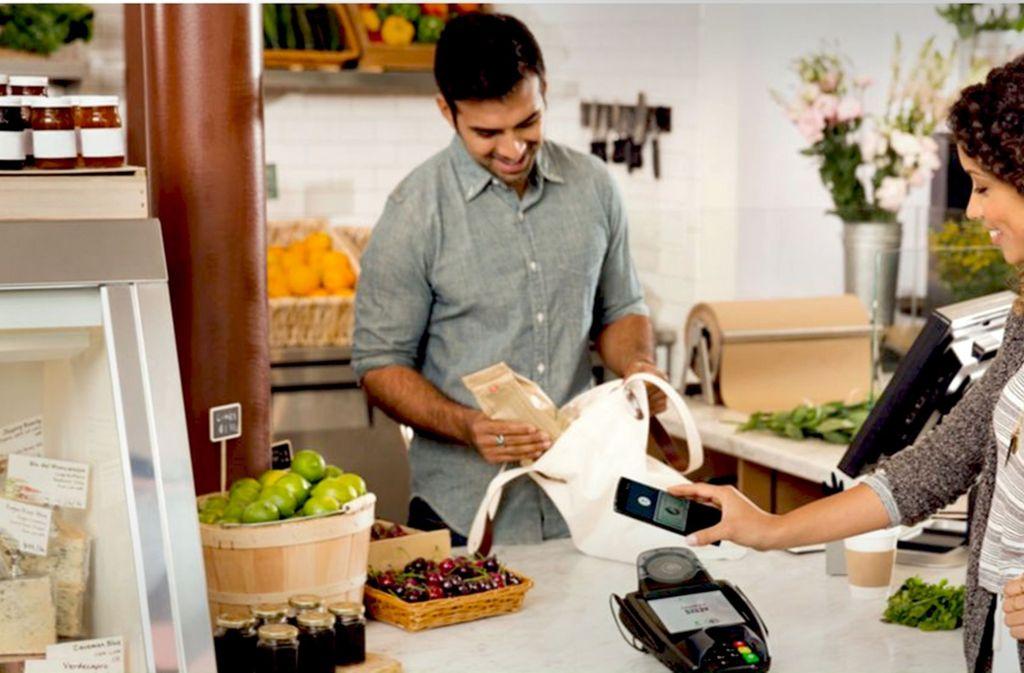 Zahlungen per Handy an der Ladenkasse sind in Deutschland derzeit noch selten. Foto: Google