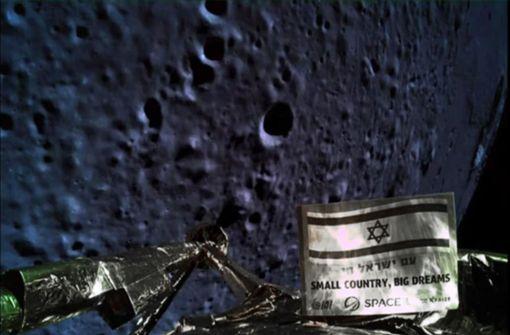 Israelische Mondlandung geht schief