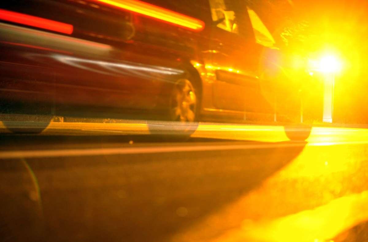 An der Aicher Straße hat es nach anderthalb Tagen eine knappe vierstellige Zahl an Verstößen gegeben. Foto: dpa/Patrick Seeger