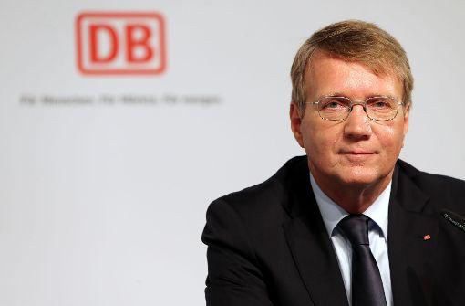 Strafanzeige gegen Bahn-Chefs Lutz und Pofalla