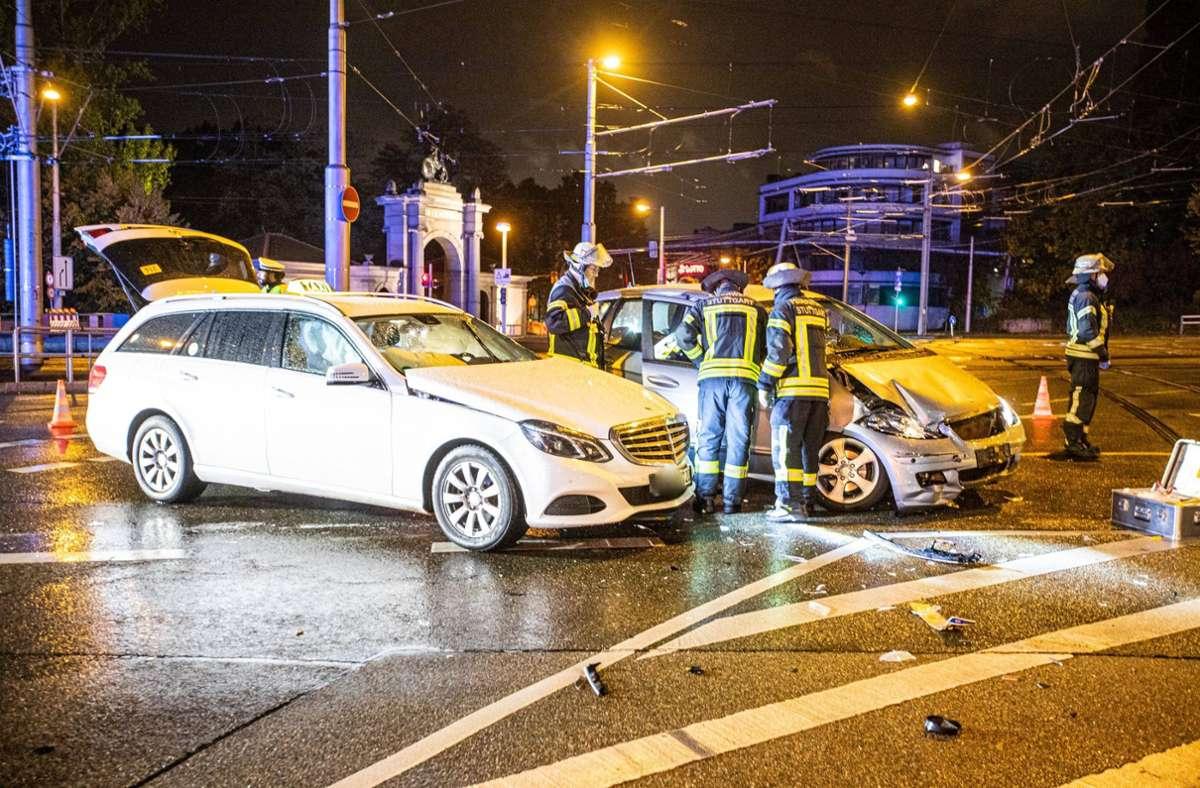 Der Unfall ereignete sich in der Pragstraße. Foto: 7aktuell.de/Simon Adomat