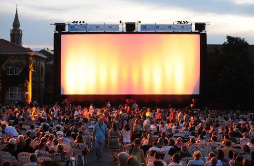 Konzerte, Partys und Kino im Freien