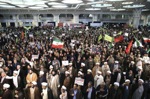Demonstranten trotzen Irans Regierung