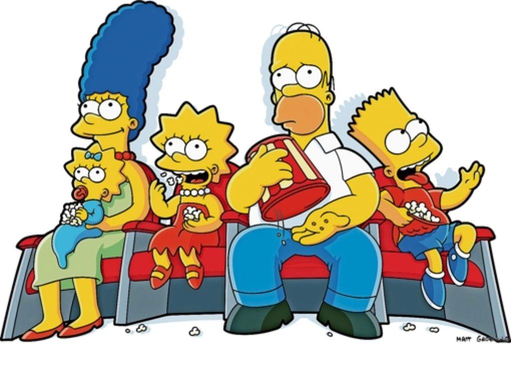 Die Simpsons sind ein wenig gelber als wir, sonst aber schonungslos nach dem Leben gestaltet. Foto: Pro  Sieben