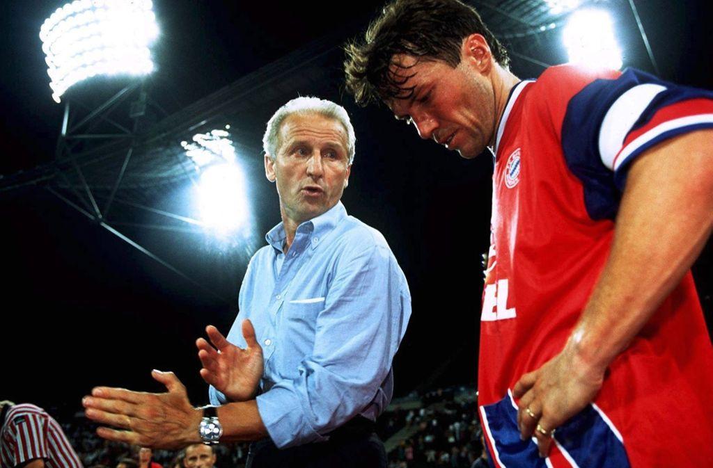 Hatten 1994 das Nachsehen: Giovanni Trapattoni (li.) und Lothar Matthäus Foto: