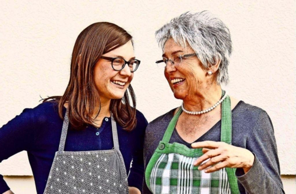 Viele einträchtige Stunden verbrachten Oma und Enkelin in der Küche. Foto: privat