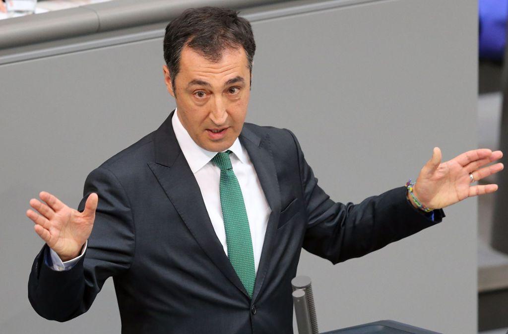 Cem Özdemir hat sich zum Thema Fahrverbote geäußert. Foto: dpa