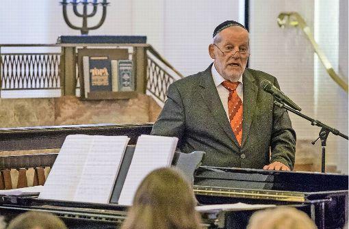 Ex-Landesrabbiner Joel Berger feiert 80.Geburtstag