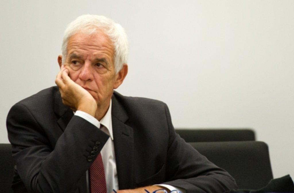 Die Abgabe nach Heidelberg angeordnet: Justizminister Rainer Stickelberger Foto: dpa