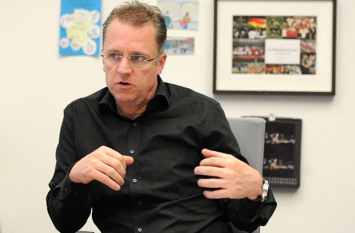 """""""Task Force""""-Leiter Tim Meyer appelliert an die Disziplin der Mannschaften. (Archivbild) Foto: imago/Eibner/Franz"""