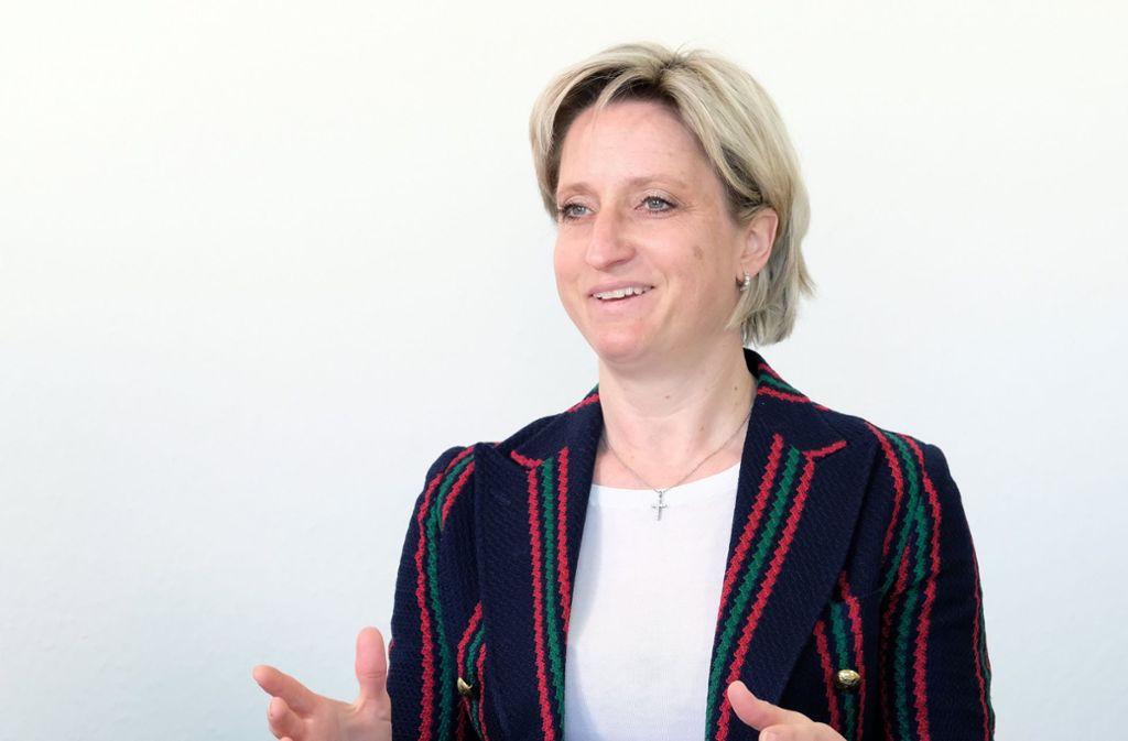 Nicole Hoffmeister-Kraut hat sich Respekt verschafft. Foto: dpa