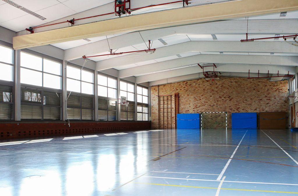 Noch immer liegen die Sportvereine im Dornröschenschlaf – wie hier die Turnhalle des MTV Stuttgart Foto: Baumann