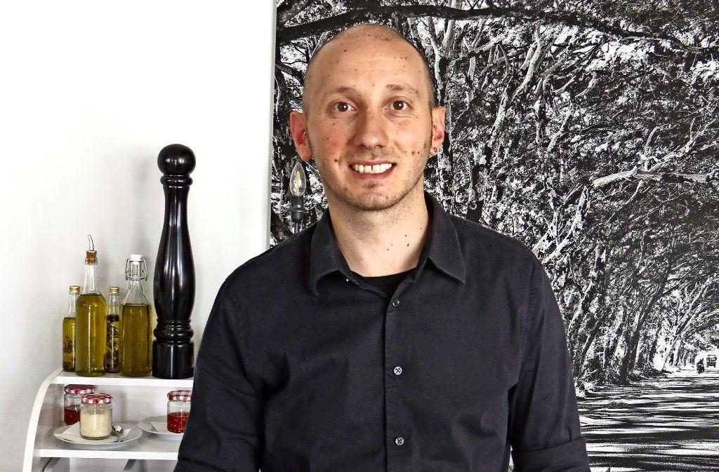 Vincenzo Pepe ist der Chef des neuen Restaurants L'Inizio. Foto: Julia Bosch
