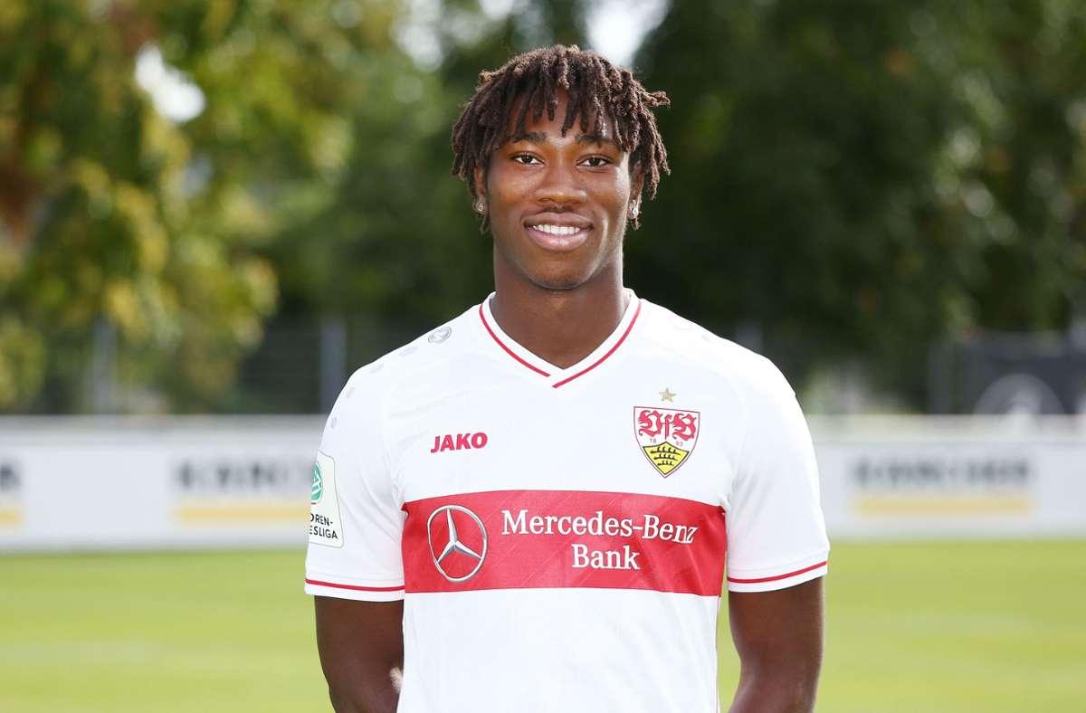 Mohamed Sankoh (17, Mittelstürmer, Vertrag bis 2023 mit vereinsseitiger Option bis 2025): 1 Mio. € [+0,5 Mio.] Foto: Pressefoto Baumann
