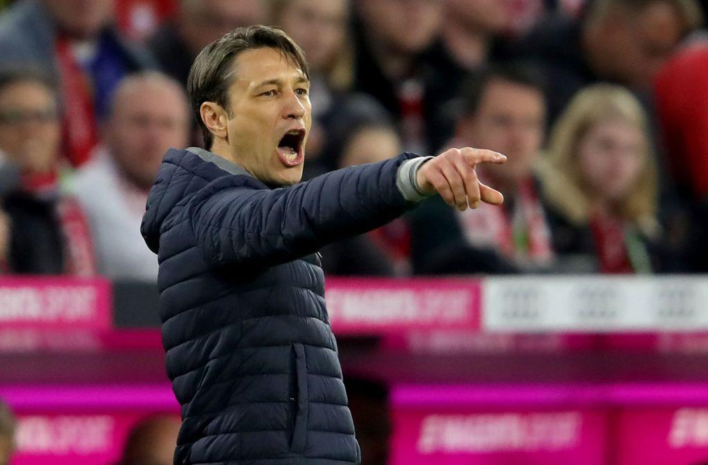 Klare Ansagen: Bayern-Trainer Niko Kovac ist gereizt. Foto: Bongarts