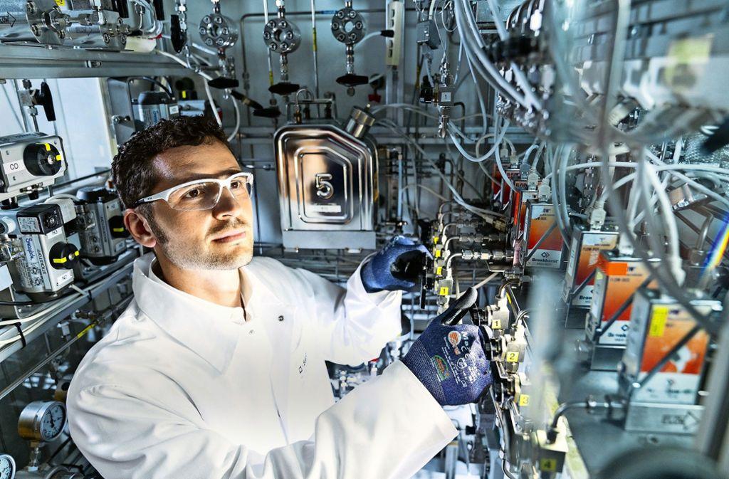 Forschung und Entwicklung bleiben auch unter Kostendruck auf hohem Niveau. Foto: BASF