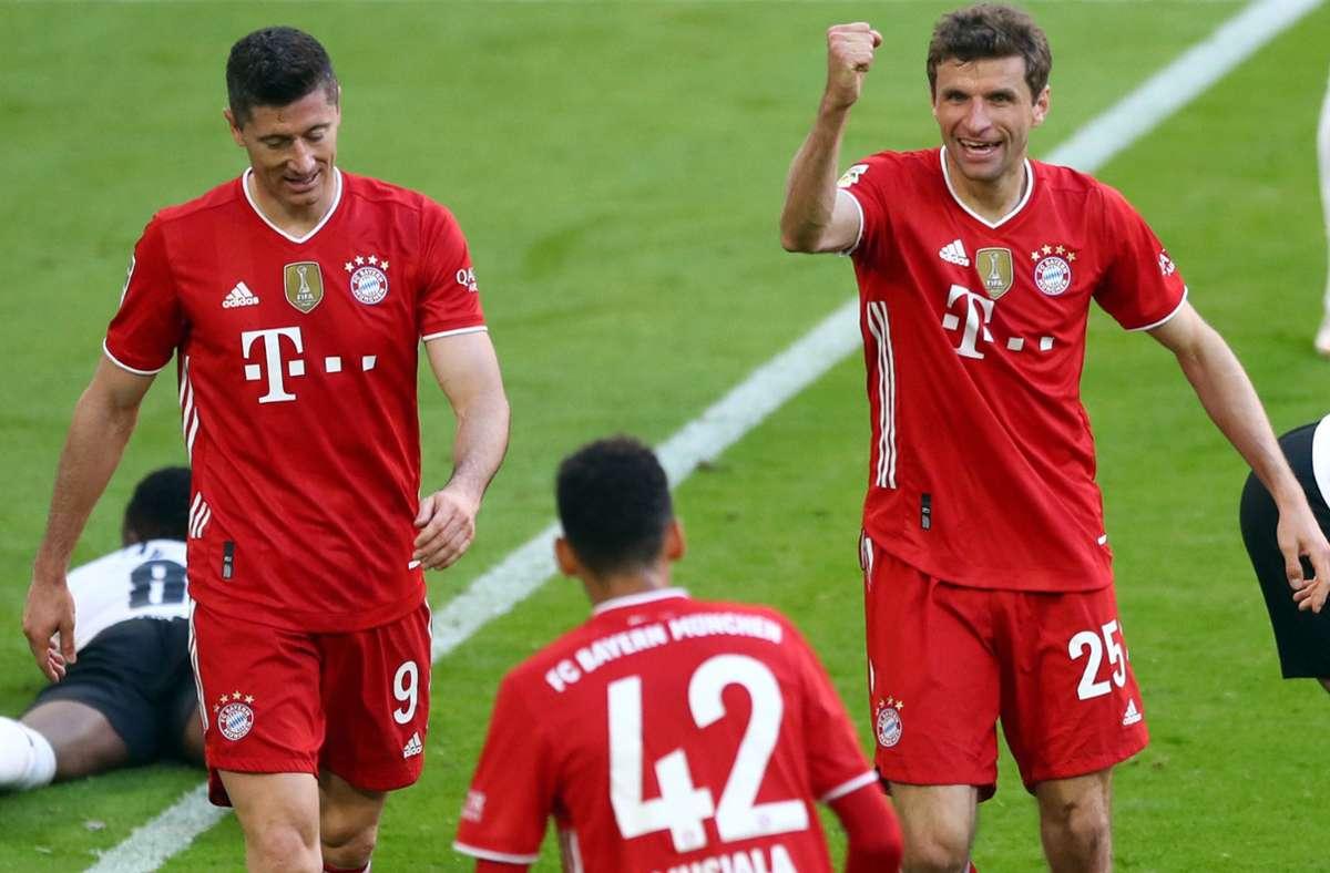 Der Bremer SV hat den großen FC Bayern München im Pokal gezogen. Foto: dpa/Matthias Schrader